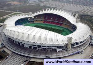 Candidaturas a organização de provas (Temporada 6) Wuhan_stadium1