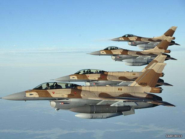 تصور المنتدى العسكري العربي لما تحتاجه القوات الجوية المغربية MoroccoF-16s