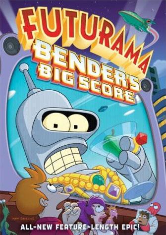 FUTURAMA : BENDER'S BIG SCORE - 2007 - Temp172