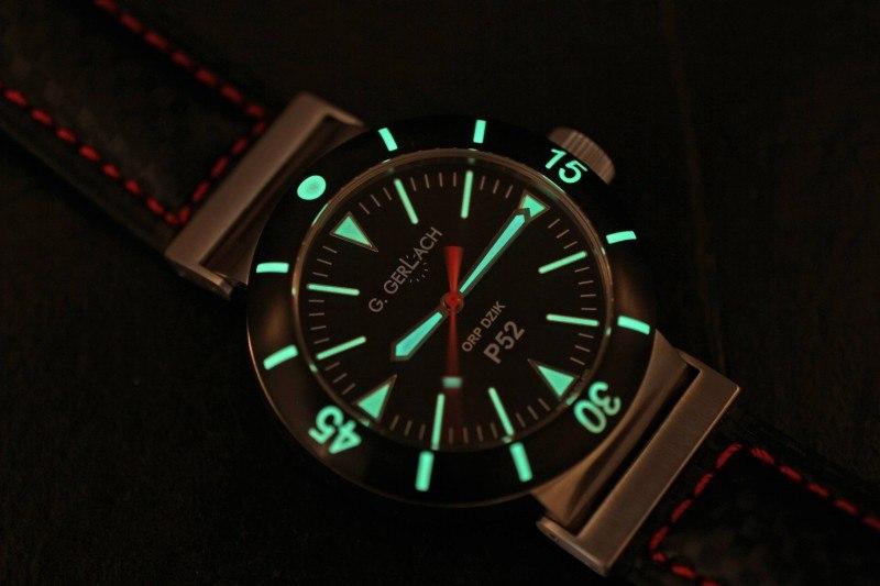 G. Gerlach: la montre polonaise! Luma