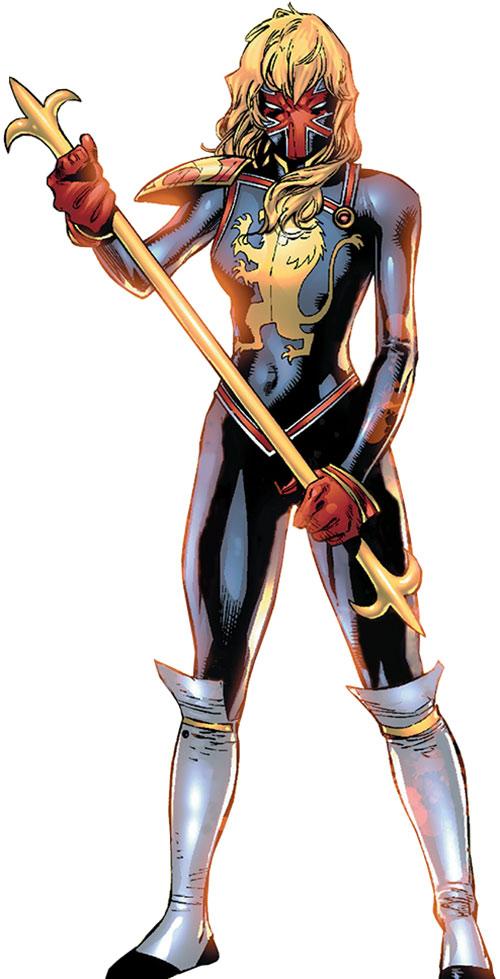 nouvelle gamme de kits Captain-Britain-Marvel-Comics-Kelsey-Leigh
