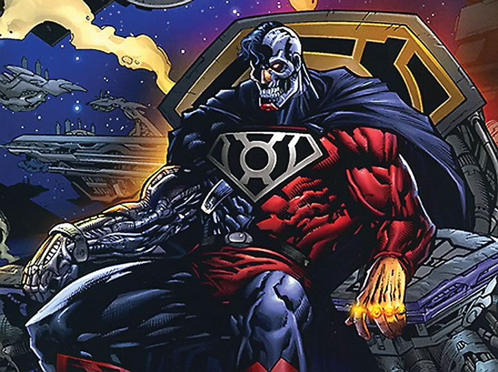 ARENA III - Truth & Justice Cyborg-Superman-DC-Comics-h004