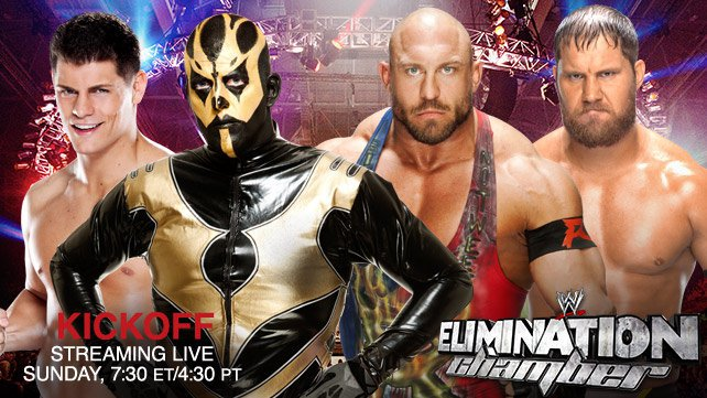 Cartel WWE Elimination Chamber 2014 20140217_LIGHT_EC_Kickoff_HOMEPAGE_SUN