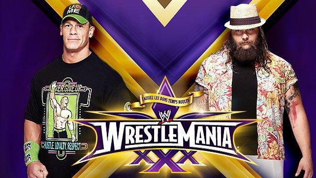 Cartel WWE Wrestlemania XXX 20140221_MatchPreview_CenaBray_LIGHT_HP