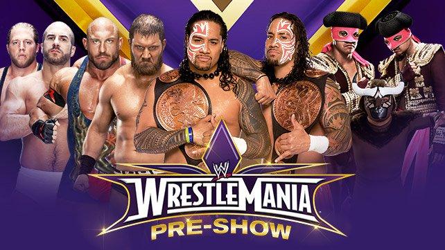 Cartel WWE Wrestlemania XXX 20140331_Fatal4Way_PreShow_LIGHT_HP