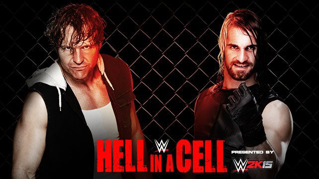 Cartel WWE Hell In A Cell 2014 20141013_EP_LIGHT_HIAC_Ambrose_Rollins_HOME