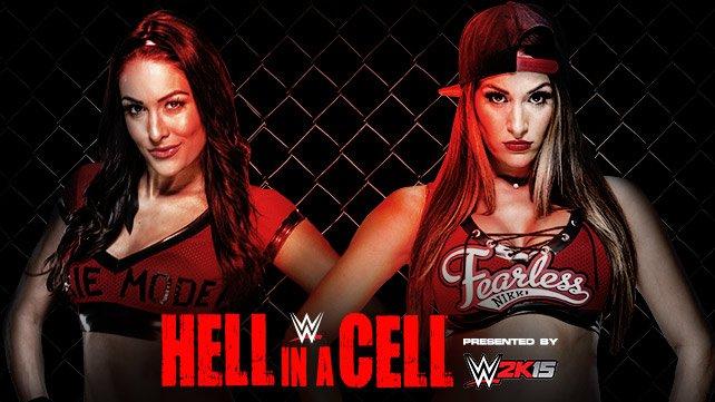 Cartel WWE Hell In A Cell 2014 20141013_EP_LIGHT_HIAC_Bire_Nikki_HOME