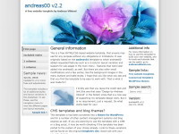 صمم موقعك الخاص بكل متعة وسهولة/أكثر من 100 قالب جاهز/إضافات روعة/متعدد اللغات/مفعّل! Andreas00