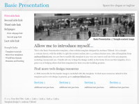 صمم موقعك الخاص بكل متعة وسهولة/أكثر من 100 قالب جاهز/إضافات روعة/متعدد اللغات/مفعّل! Basic-presentation