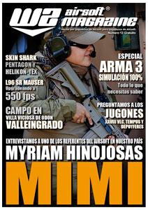 Nuevo número de la revista WZ Airsoft Magazine. Portada_12
