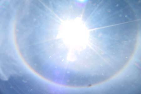 Chuyện lạ: Mặt trời xuất hiện hào quang Vtc_220898_anh4a