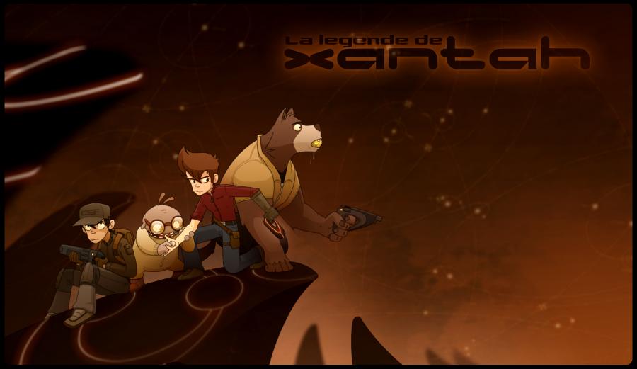 XANTAH : La nouvelle saga des créateurs d'Adoprixtoxis - Page 12 Up