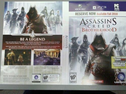 Assassin's Creed Brotherhood III - [Xbox360/PC/PS3] AC2-Brotherhood1