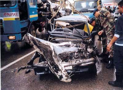 ماذا تتصرف عند وقوع حادث سير؟ CarAccReact5L