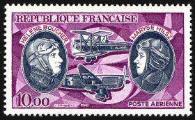 Hélène Antoinette Eugénie Boucher, aviatrice Boucher_Hilsz
