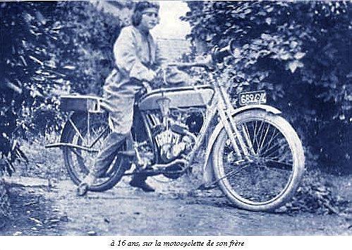 Hélène Antoinette Eugénie Boucher, aviatrice Enfance25