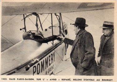 Hélène Antoinette Eugénie Boucher, aviatrice HB1-WEe17a148789