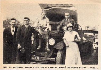 Hélène Antoinette Eugénie Boucher, aviatrice HB2-WE67a9a55220
