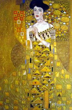 Allegrina fait son cinéma Klimt----Portrait-Of-Adele-Bloch-Bauer-I---0