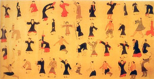 法轮大法 - Falun Gong ou Falun Dafa - 法輪大法 Daoyin2