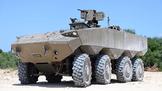 إسرائيل تكشف عن ناقلة الجند الجديدة 'Eitan' 71713330100994640360no