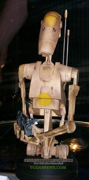Gentle Giant - Droid de combat Mini Bust 027