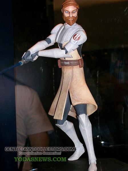Obi-Wan Kenobi Clone War 3D 146