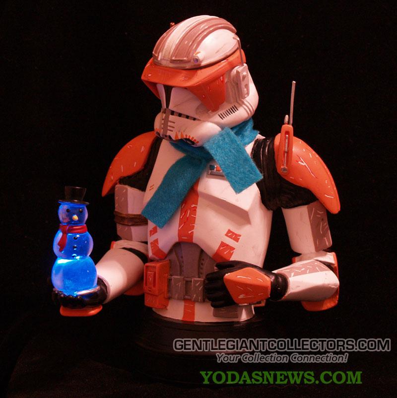 Commander Cody Mini bust Holiday exclu 10