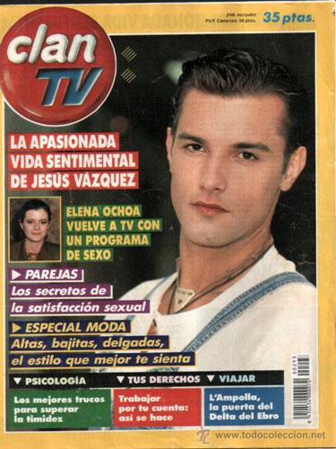 La Super Pop.,Teleindiscreta  y revistas de entonces Clan-TV