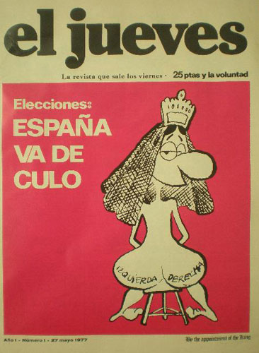 La Super Pop.,Teleindiscreta  y revistas de entonces El-Jueves
