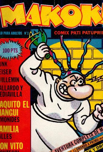 La Super Pop.,Teleindiscreta  y revistas de entonces Makoki