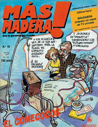 La Super Pop.,Teleindiscreta  y revistas de entonces Mas-madera