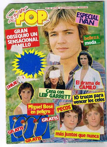 La Super Pop.,Teleindiscreta  y revistas de entonces Super-pop