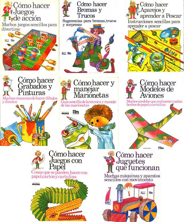COLECCIÓN DEFINITIVA: COMIC INFANTIL Libros-como-hacer1
