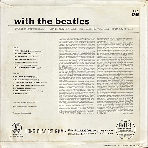 With The Beatles  With_mono_y7N_decca_back_large