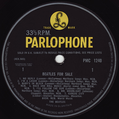 Beatles For Sale  Forsale1_mo_yp_4n4n_side1_large