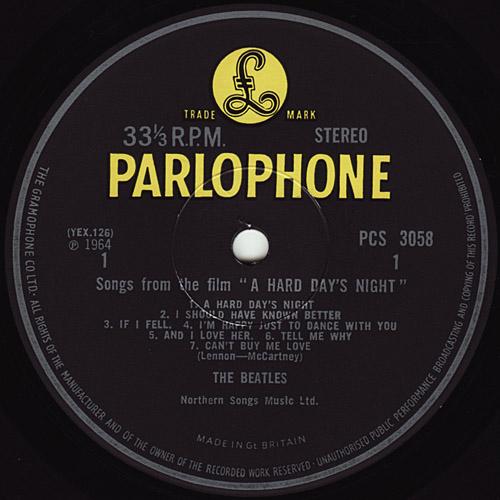 A Hard Day's Night Hard4_gramo_nosold_side1_large