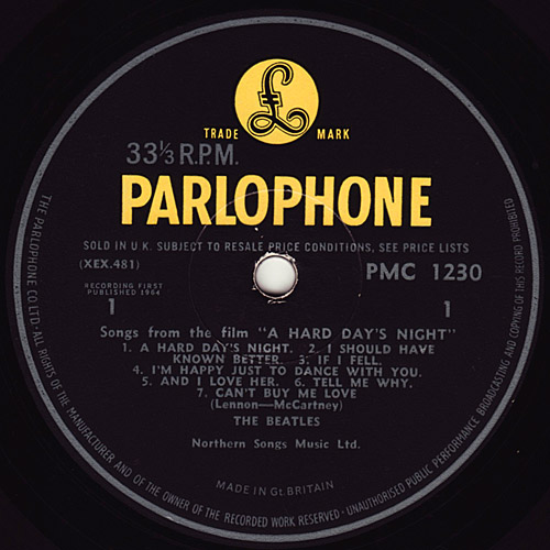 A Hard Day's Night Hard_mono_y1_side1_large