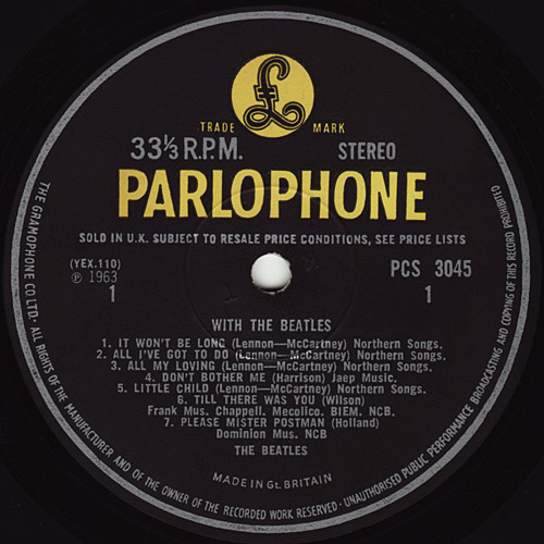 With The Beatles  With_y2_st_gramo_small_side1_large