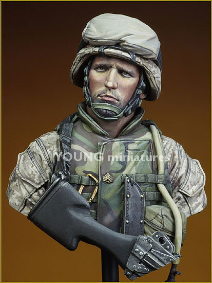 Young Miniatures USMC Fallujah Iraq 2004 YM1816-1