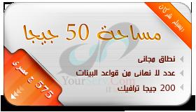 شركة يور سيرف لتكنولوجيا المعلومات 50gr