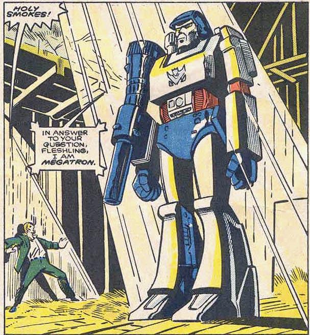 Comics Transformers-Issue-13-Megatron