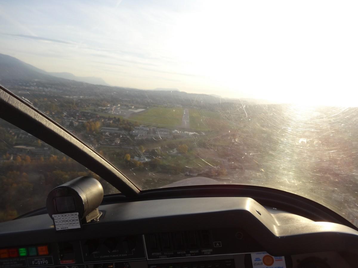 Vol de fin d'après-midi vers Annecy Annecy_09m