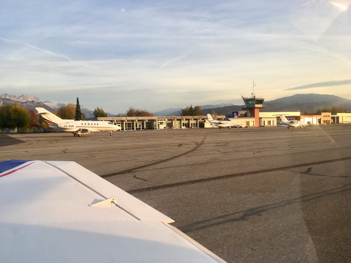 Vol de fin d'après-midi vers Annecy Annecy_10m