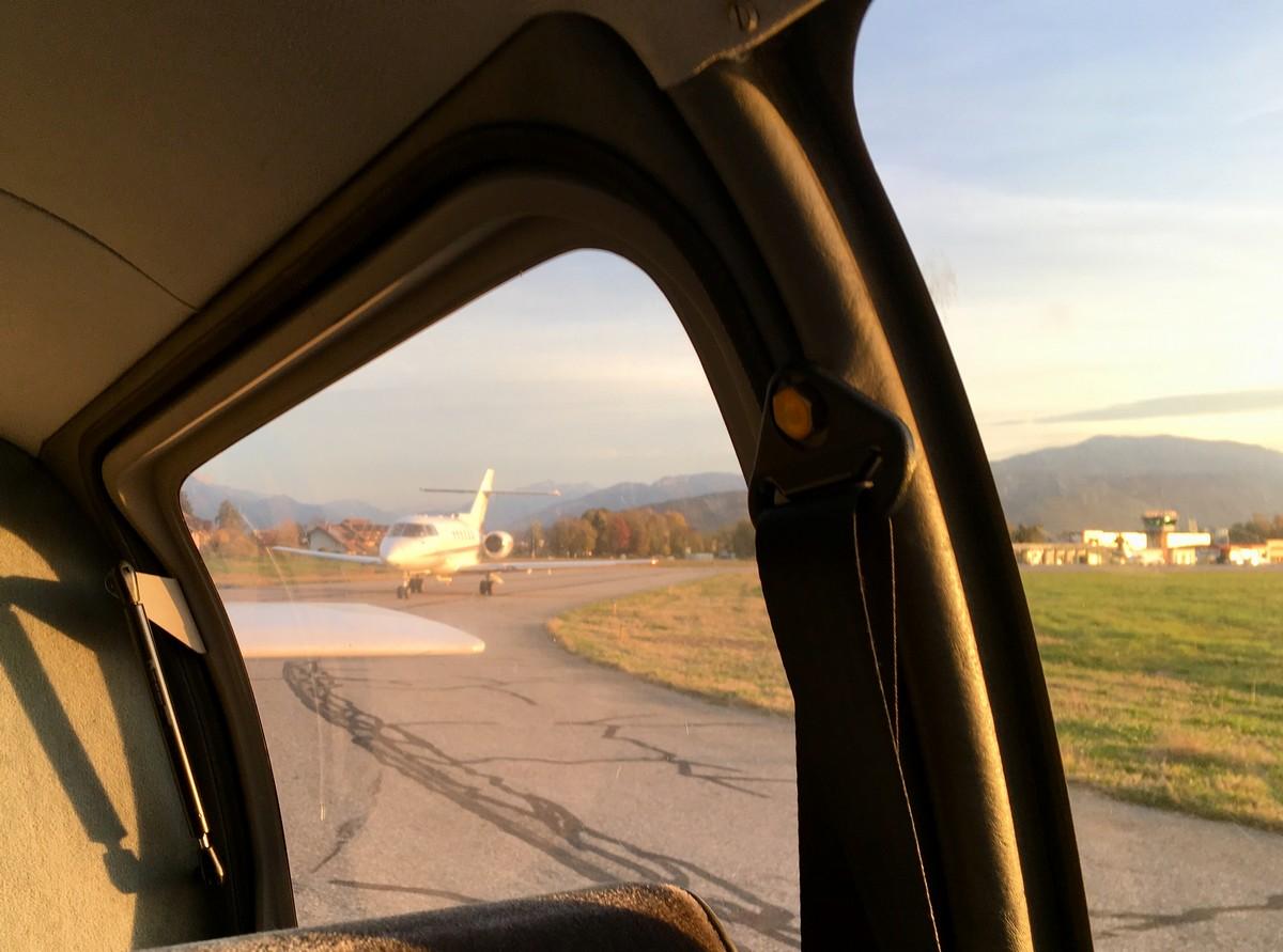 Vol de fin d'après-midi vers Annecy Annecy_11m