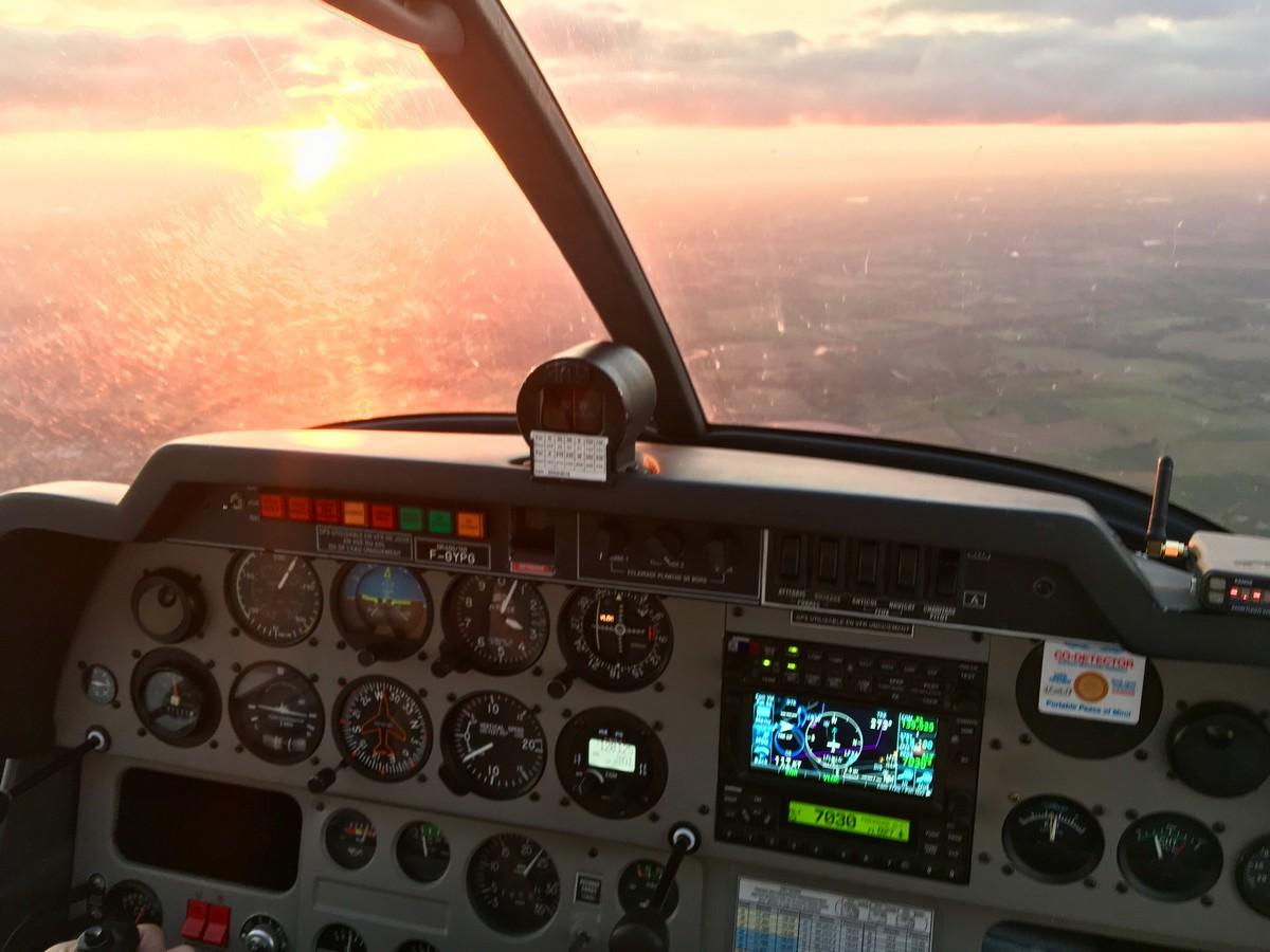 Vol de fin d'après-midi vers Annecy Annecy_14m