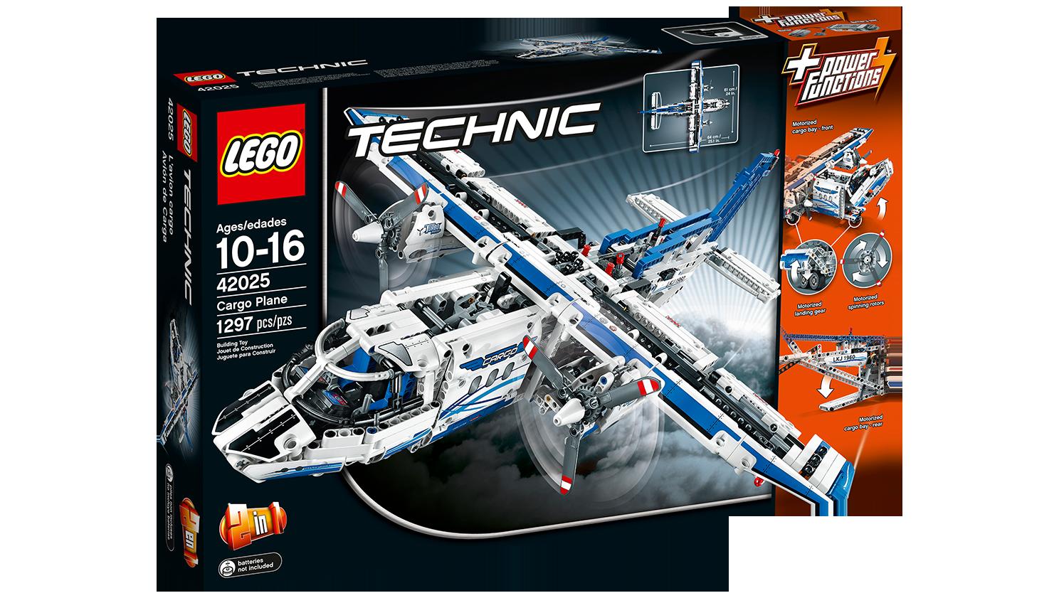 Lego Technic 42025 : l'avion cargo 42025_box1_na_1488x841