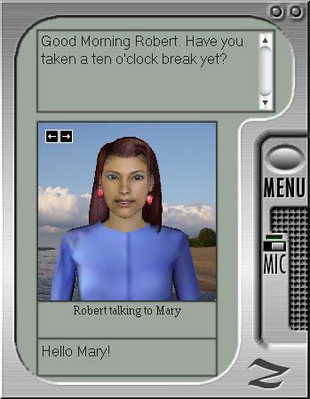 انسى العالم.. و دردش مع كمبيوترك.. Ultra Hal Assistant هنا.. Scrnshot