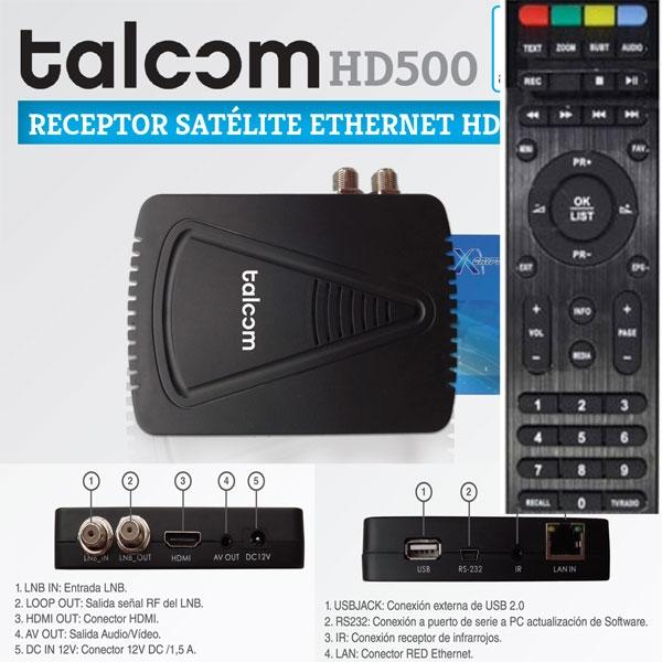 Firm para Talcon 500HD 2.61 Talcom-hd-500carac2