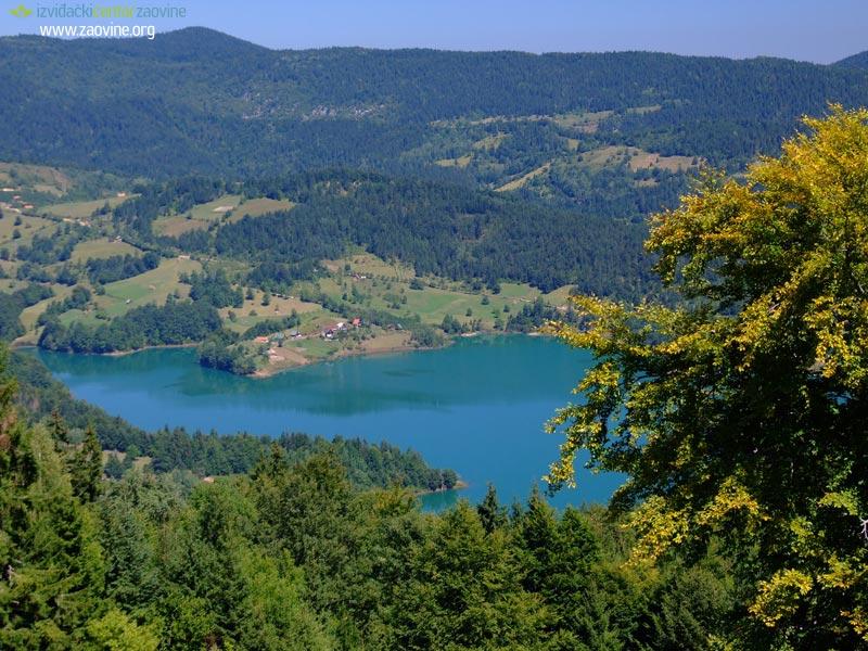 Jezera Zaovine-jezero-2
